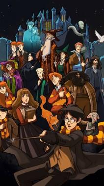 Harry Potter Fondos De Pantalla De Dibujos Animados Dibujos Animados Dibujos Animados Ilustración Anime Juegos 423829 Wallpaperuse