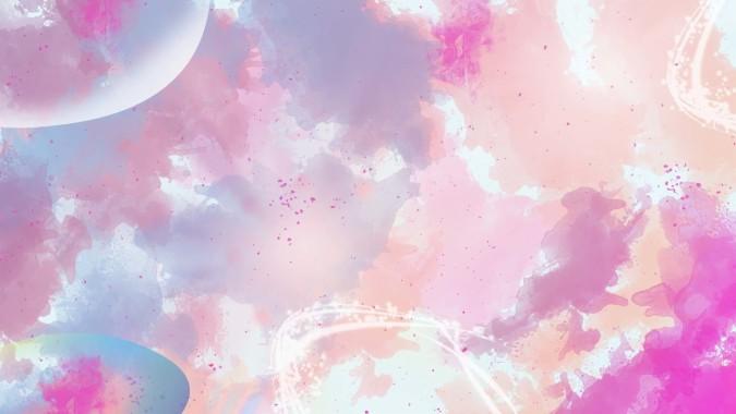 Pastel Color Wallpaper Hd Pink Sky Pattern Design Cloud 686634 Wallpaperuse