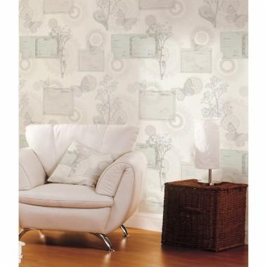 horizontal striped wallpaper b&q,living